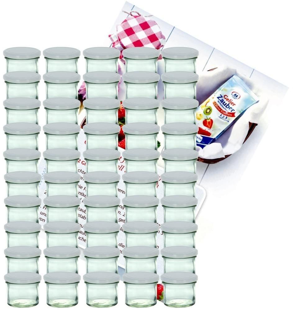 MamboCat Sturzglas 125 ml (75 Stk.) weiß