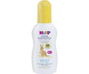 Hipp Babysanft Kinder Sonnenspray Ultra Sensitiv Lsf 50 150ml Ab