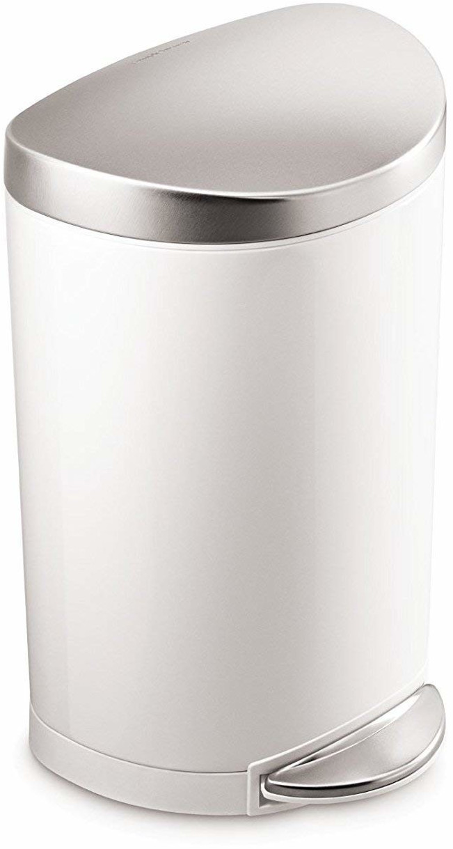 Simplehuman Semi Round Pedal Bin Deluxe 10 L Wh...
