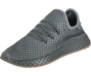 52cb30d3615 Buy Adidas Deerupt Runner J grey three grey four gum 1 from £55.01 ...