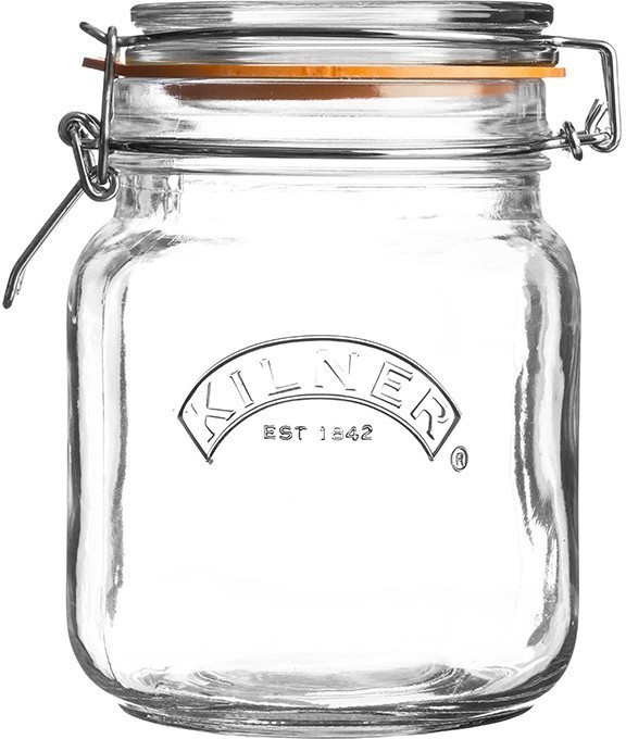 Image of Kilner Clip Top Square 1000 ml