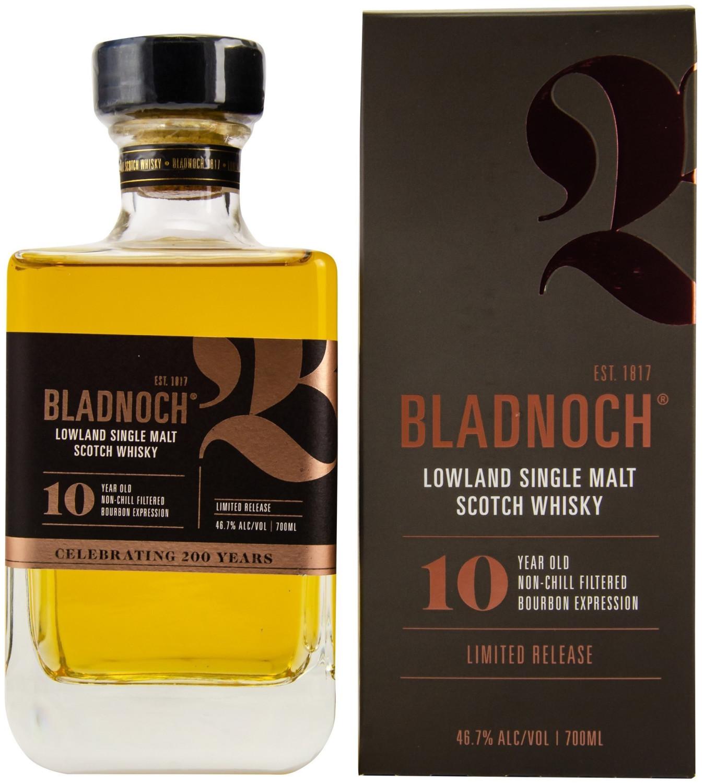 Bladnoch 10 Years Old 0,7l 46.7%