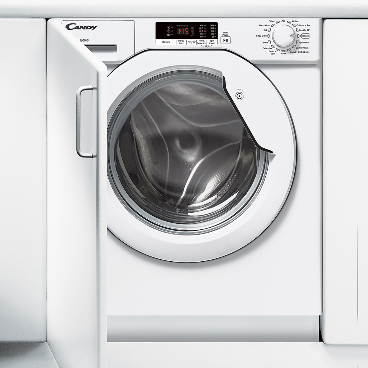 Image of Candy CBWM816S 8kg 1600rpm A+++ Integrated Washing Machine