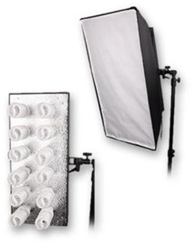 Bresser MM-18 Lampenhalter für 12 Tageslicht Sp...