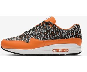 Nike Air Max 1 Premium black/total orange/white/black au meilleur ...