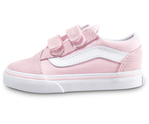 c34b02c35 Buy Vans Old Skool Baby V chalk pink/true white from £24.99 – Best ...