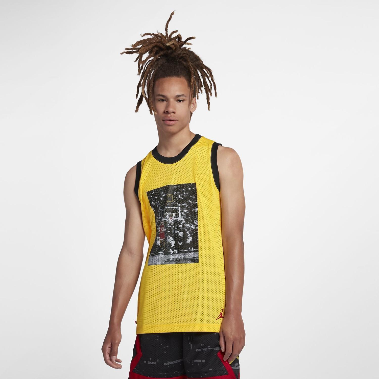 Nike Jordan Sportswear Last Shot Mesh tour yellow/black/black (AQ0697)