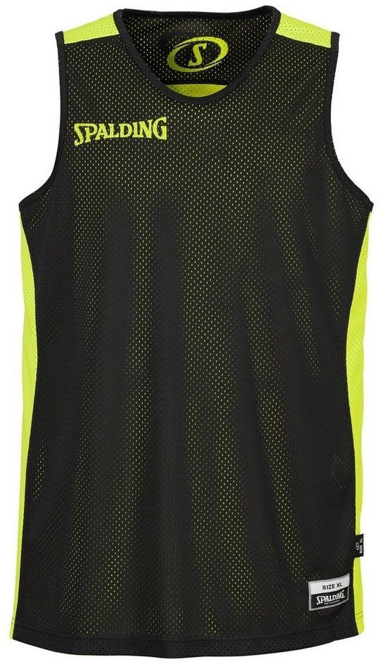 Image of Spalding Essential Reversible Shirt black/yellow (300201406)