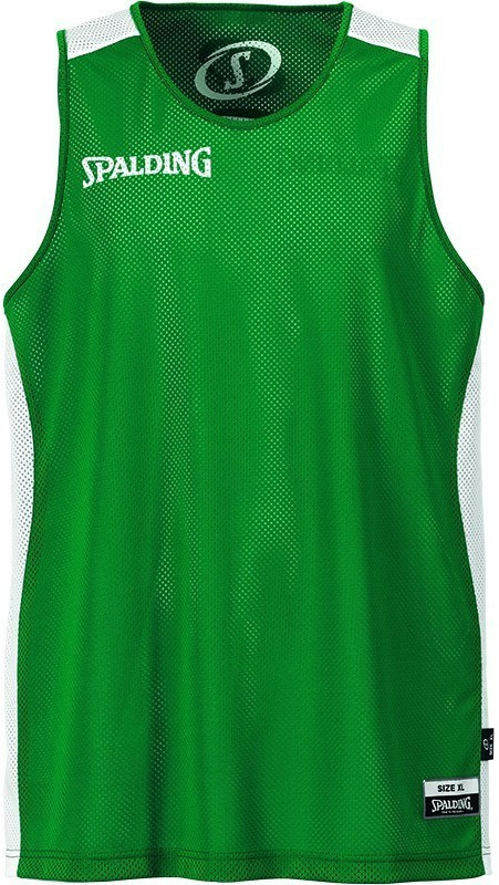 Image of Spalding Essential Reversible Shirt green/white (300201403)