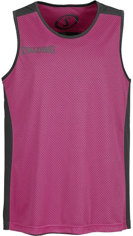 Image of Spalding Essential Reversible Shirt black/pink (300201407)