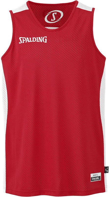 Image of Spalding Essential Reversible Shirt red/white (300201408)