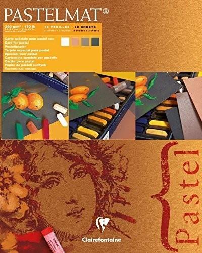 Clairefontaine PastelMat 24 x 30 cm Pastel Card Pad No. 2