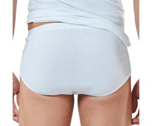 Sport-Slip Noblesse Unterhose mit Eingriff Baumwolle Herren 2er Pack Mey
