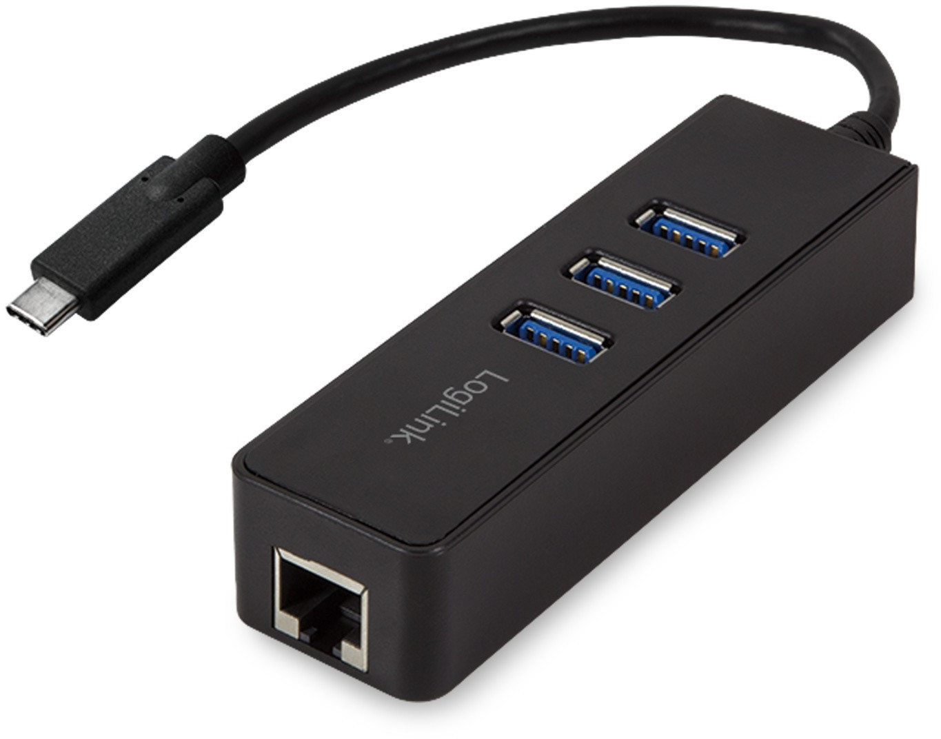 Image of LogiLink 3 Port USB-C Gigabit Hub (UA0283)