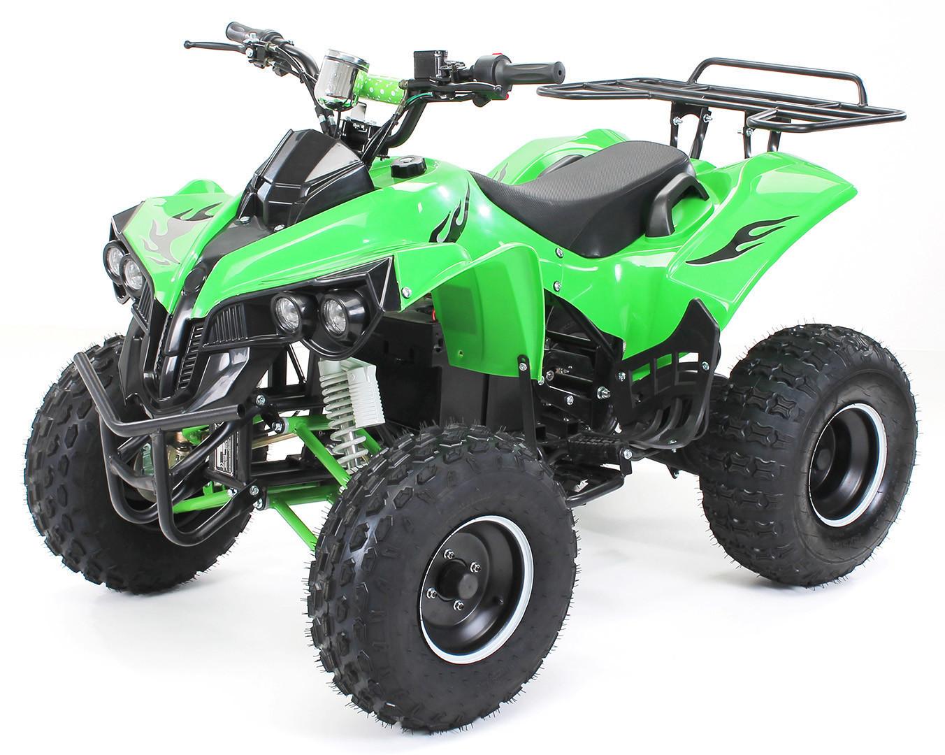 Miweba Kinder Quad S-10 Elektro 1000 W grün