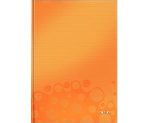 Notizblock A5 liniert 150 Blatt orange