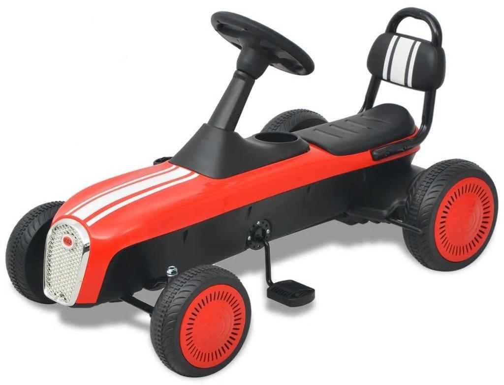 VidaXL Pedal Go-Kart rot