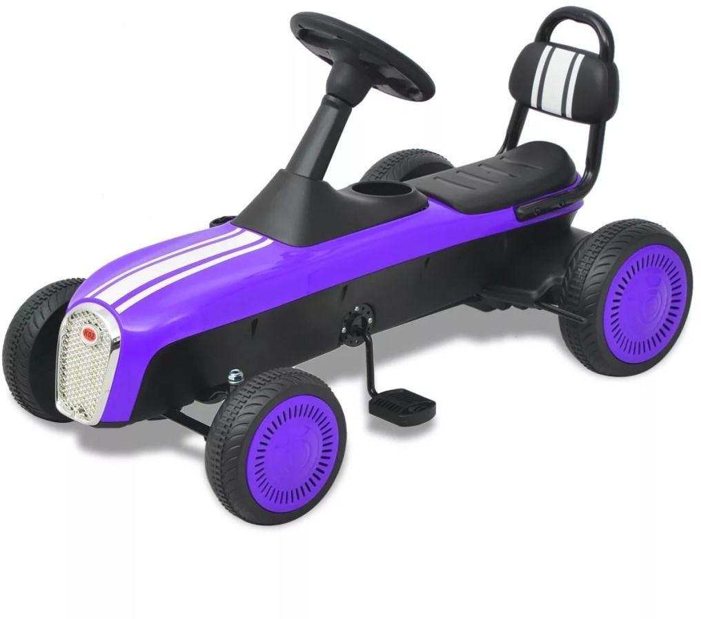 VidaXL Pedal Go-Kart lila