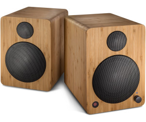 Lautsprecher Wavemaster Cube Mini Neo Bamboo Regal System Bluetooth Boxen Bambus