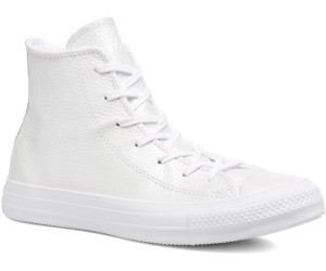 aaef6fb5eb36d6 Converse Chuck Taylor All Star Iridescent Leather hi - white (557950C)