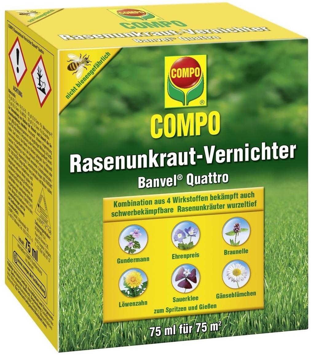 Compo Rasen-Unkrautvernichter Banvel quattro 75ml