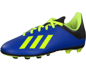 save off aa7b3 276db Adidas X 18.4 FXG J Football Boots Youth. DB2419 Youth fooblu  solar yellow  ...