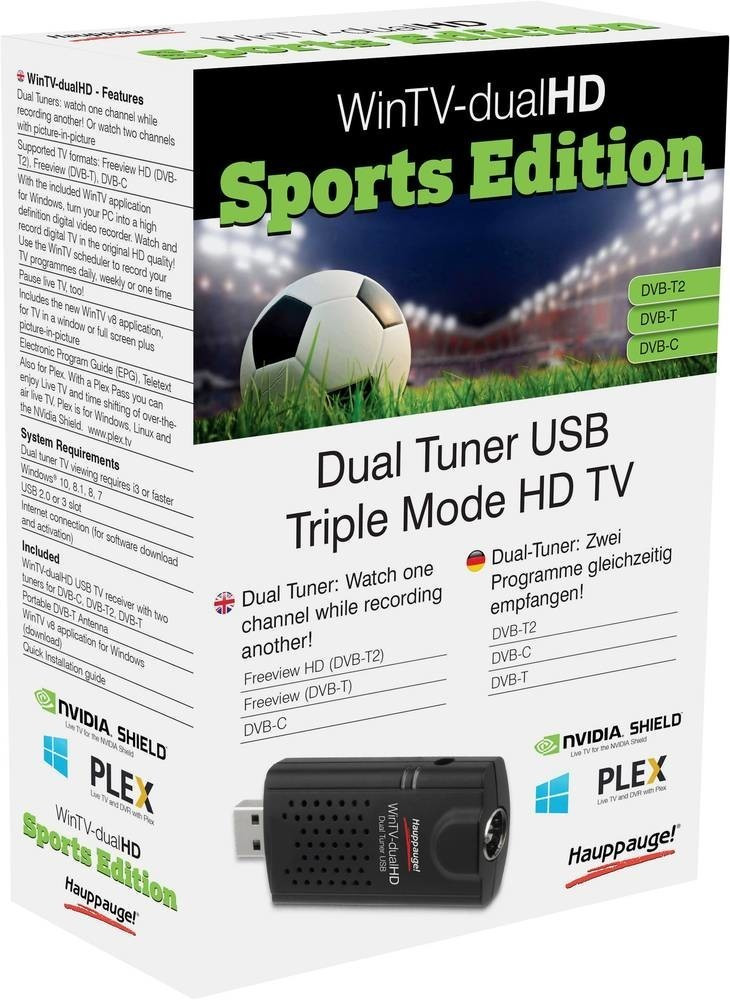 Hauppauge WinTV-dualHD Sports Edition