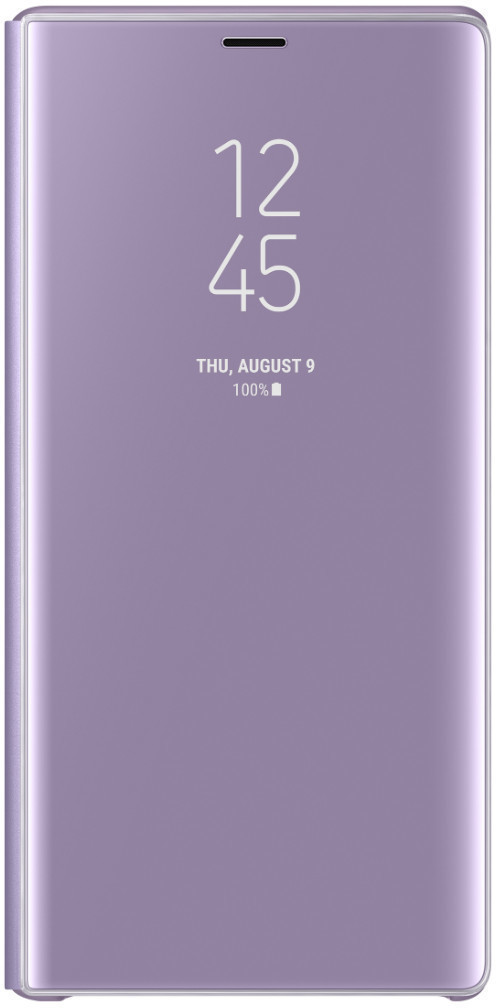Samsung Clear View Standing Cover (Galaxy Note 9) lavendel
