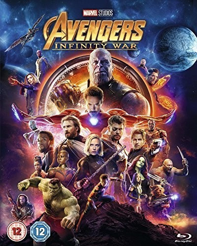 Image of Avengers: Infinity War [Blu-ray] [2018]