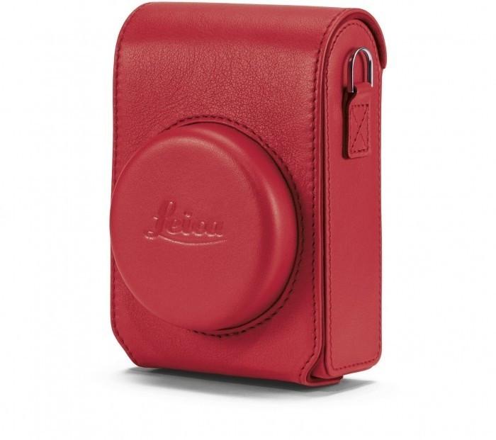 Leica Ledertasche für C-LUX rot