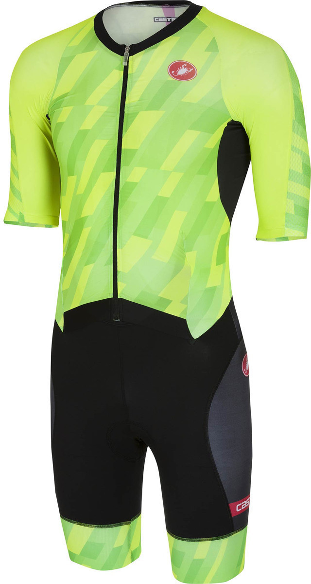 Castelli All Out Speed Suit pro green/black (86...