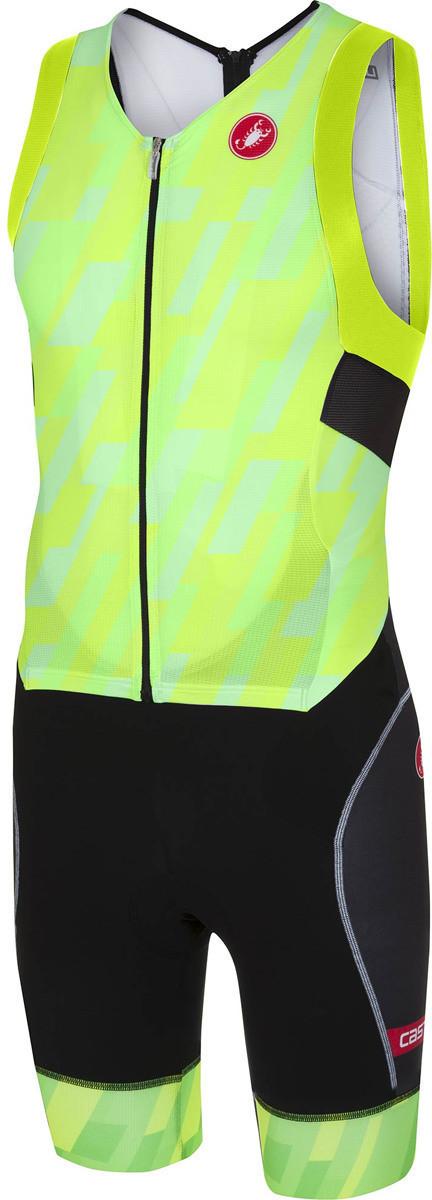 Castelli Free Sanremo Suit Sleeveless pro green...