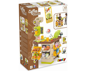 Smoby 350214 House, Coffee Shop, Kaffee Haus, Supermarkt