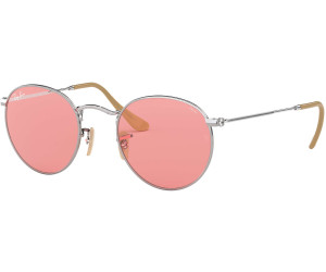 57c845ded05 Buy Ray-Ban Round Evolve RB3447 9065V7 (silver photo pink) from ...