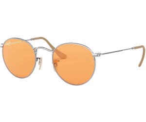 b0414f355360d Buy Ray-Ban Round Evolve RB3447 9065V9 (silver photo orange) from ...