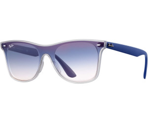 47b023c41fd Ray-Ban Blaze Wayfarer RB4440N 6356X0 (transparent blue blue gradient  mirror)