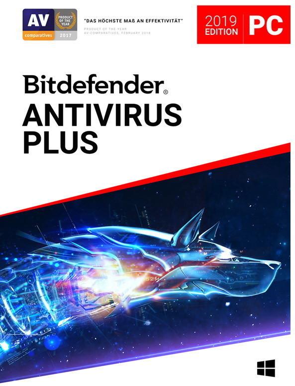 Image of Bitdefender Antivirus Plus 2019