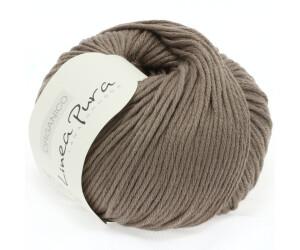 Wolle Kreativ Lana Grossa 81 helles stahlblau 50 g Fb Organico GOTS