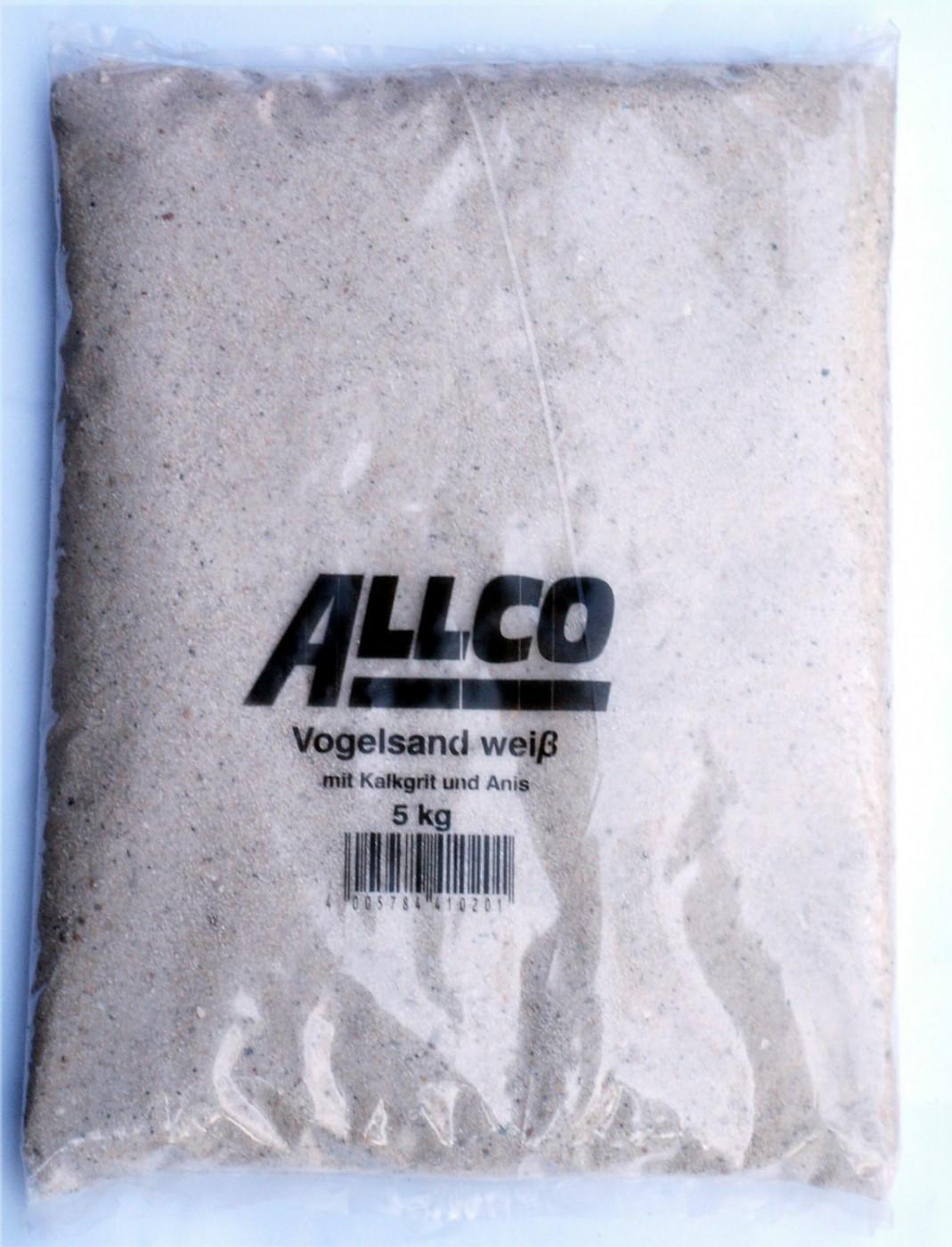 Allco Vogelsand weiß 3x5kg
