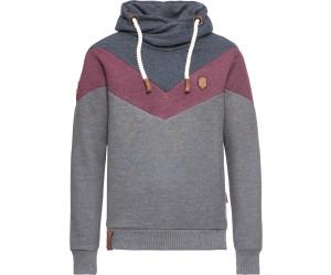 NAKETANO Kifferboarder Hooded Sweatshirt for Men Blue