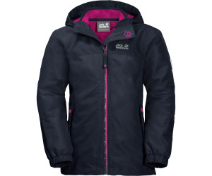 Iceland Jacket Girls Jack Wolfskin Midnight Blue 3in1 bfvI76gYy