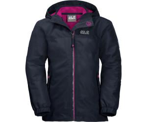 Jack Wolfskin Iceland 3in1 Jacket Girls midnight blue