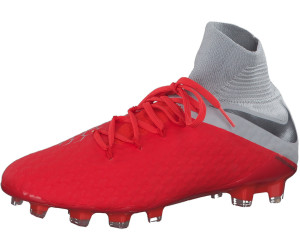 8b853481972 Nike Hypervenom Hypervenom III Pro Dynamic Fit FG. Light crimson wolf grey  metallic silver metallic dark grey