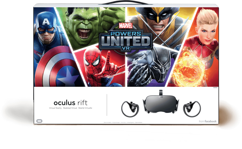 Oculus Rift mit Oculus Touch + Marvel Powers Un...