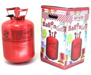 Party Factory Ballongas für bis zu 50 Ballons