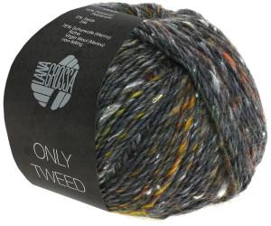 109 hell-//dunkelgrau//himbeer 50 g Wolle Kreativ Lana Grossa Only Tweed Fb