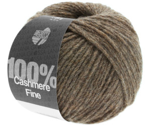 100/% Cashmere 14 graubraun 25 g Wolle Kreativ Fb Lana Grossa