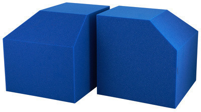 Image of EQ Acoustics Project Corner Cubes (blue)