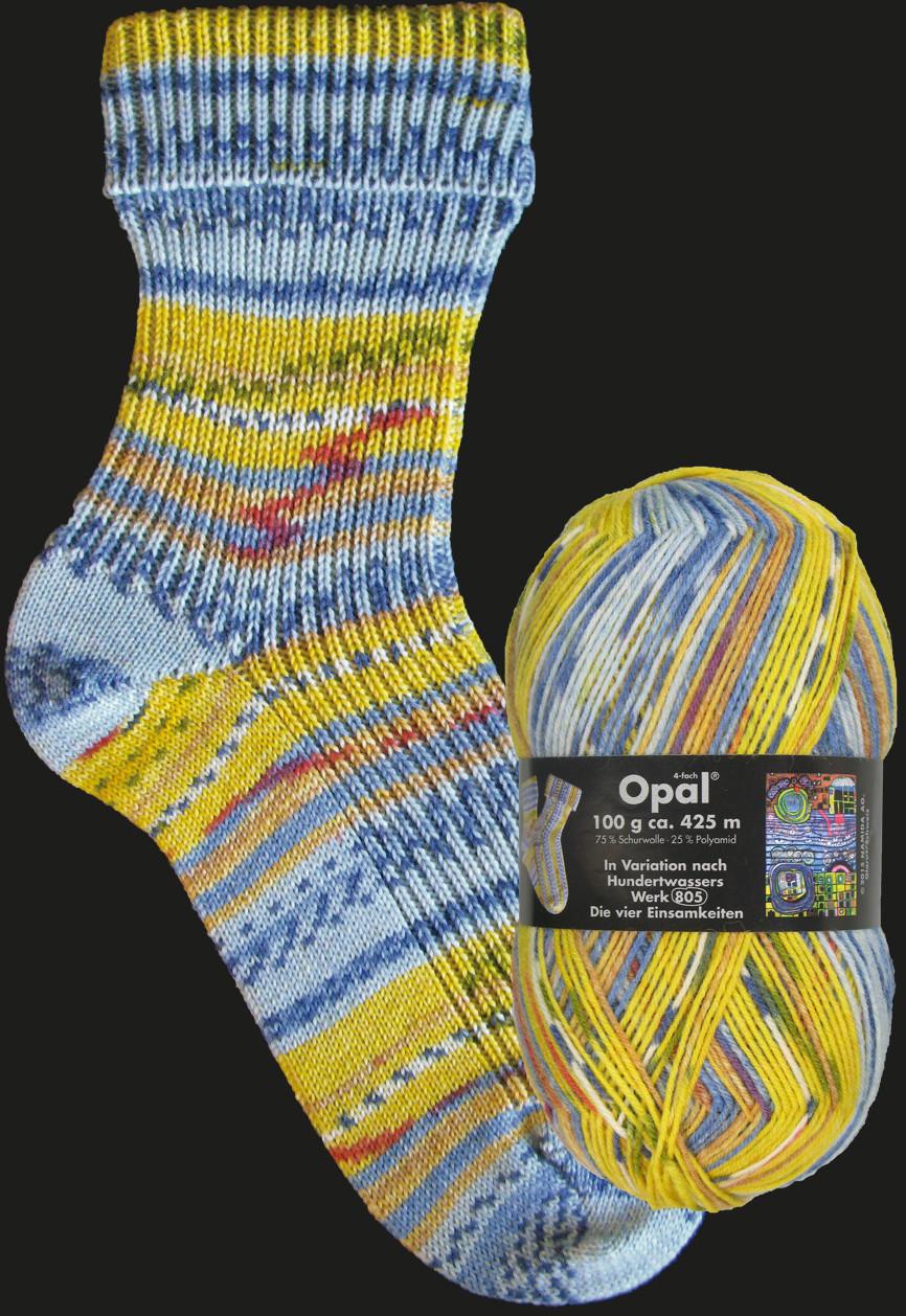 Opal Nach Hundertwasser-Werk 805 Die vier Einsa...
