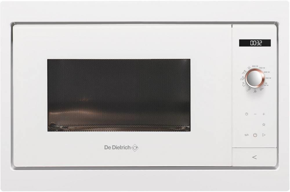 Image of De Dietrich DME7121W pure white
